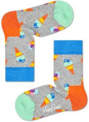Happy Socks Șosete gri, model înghețată - 4-6 y EU