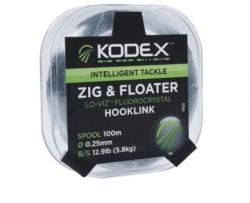 Middy Kodex zig&floater hooklink 100m (m1592)