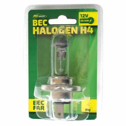 RoGroup Bec auto cu halogen RoGroup H4, 12V, 55 W (999BL1205)
