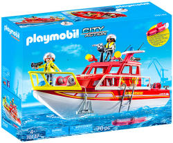 Playmobil Nava de stins incendii (70147)