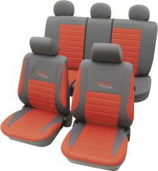 Cartrend Set huse universale scaun auto, roşu, 11 piese, Cartrend Active