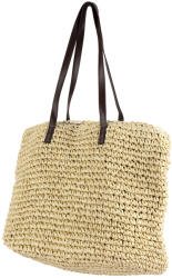 SOLE Handmade Natural Raffia Large Tote Bag