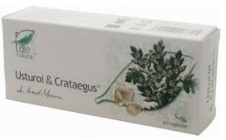 ProNatura Usturoi & Crataegus - 30 comprimate,