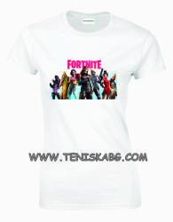 Montecarlo - ROLY Тениска с надпис - Fortnite2
