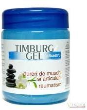 Trans Rom Timburg gel albastru pentru dureri de muschi si articulatii, 500 g, Trans Rom (FSH1007)