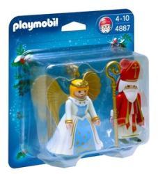 Playmobil Mikulás és angyalka (4887)