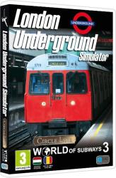 Excalibur World of Subways 3 London Underground Simulator Circle Line (PC)