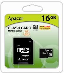 Apacer MicroSDHC 16GB Class 10 AP16GMCSH10U1-R