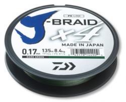 DAIWA Плетено Влакно Daiwa J-BRAID X4 - 135м / тъмно зелено (12741-0xx)