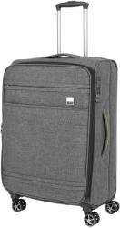 TITAN Novum M - 4 kerekű bővíthető közepes bőrönd