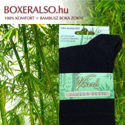 Bambusz zokni - orrvarrat nélkül -