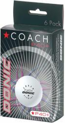Donic Mingi tenis Donic Coach* P40+ albe (set de 6 buc)
