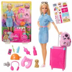 Mattel Barbie Dreamhouse in calatorie FWV25 Papusa Barbie