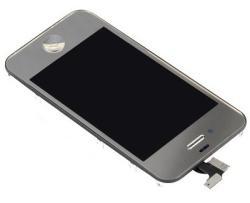 Mentor Display cu TouchScreen pentru Apple iPhone 4 Alb