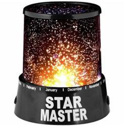 Lampa proiector Star Master cu stelute colorate - tentant