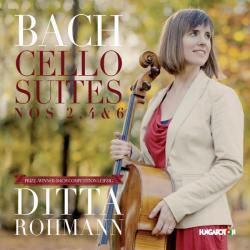 Cello Suites Nos. 2, 4 & 6 Rohmann Ditta Cd