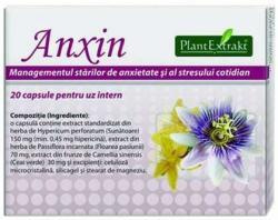 PlantExtrakt Anxin - 20 comprimate