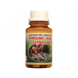 Hypericum Plant Spirulina cu aloe si catina alba - 60 comprimate