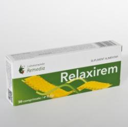 Remedia Relaxirem - 30 comprimate