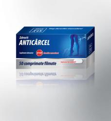 Zdrovit Anticarcel - 50 comprimate