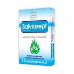 Zdrovit Salviasept - 12 comprimate