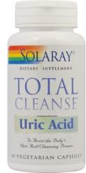 SOLARAY TotalCleanse Uric Acid - 60 comprimate