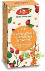 Fares Vitaminizant cu macese si catina - 60 comprimate