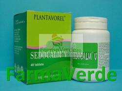Plantavorel Sedocalm V - 40 comprimate