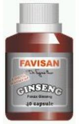 Favisan Ginseng - 40 comprimate