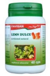 Favisan Lemn dulce - 40 comprimate