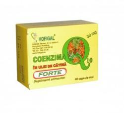 Hofigal Coenzima Q10 cu ulei de catina - 30 comprimate