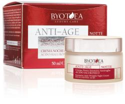 Byotea Skin Care Crema De Noapte Anti-Rid Intensiva Cu Efect De Lifting - Anti-Wrinkle Night Cream Hyaluronic Acid 50ml - BYOTEA Crema antirid contur ochi