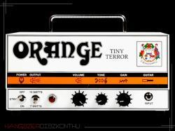 Orange Tiny Terror Head