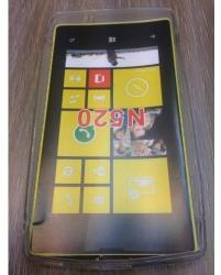 Nokia Силиконов калъф за Nokia Lumia 520 прозрачен