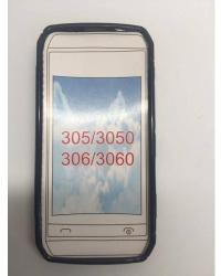 Nokia Силиконов калъф за Nokia Asha 305/306