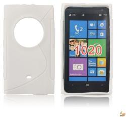 Nokia Силиконов калъф за Nokia 1020 бял