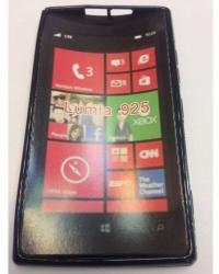 Nokia Силиконов калъф за Nokia Lumia 925 черен