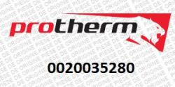 Protherm Panou superior Protherm Grizzly 65KLO12, 85KLO12, 100KLO12, 130KLO12, 150KLO12 (0020035280)