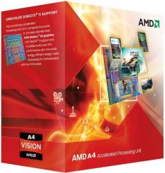 AMD A4-3400 Dual-Core 2.7GHz FM1