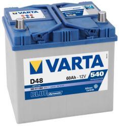 VARTA D48 Blue Dynamic 60Ah 540A Bal+ (560 411 054)