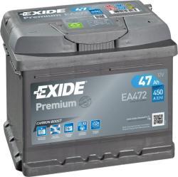 Exide Premium 47Ah 450A jobb (EA472)