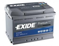 Exide Premium EA640 64Ah jobb (EA640)