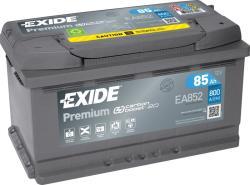 Exide Premium EA852 85Ah 800A jobb+ (EA852)