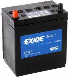 Exide Excell EB357 35Ah 240A Bal+ Ázsia (EB357)