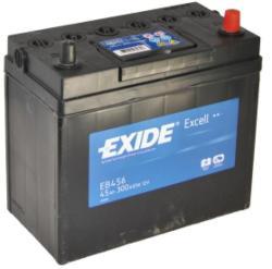 Exide Excell EB456 45Ah 330A jobb+ (EB456)