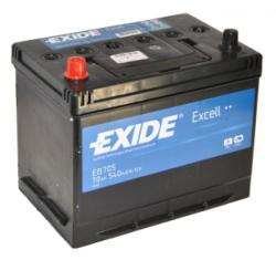 Exide Excell EB705 70Ah 540A bal+ (EB705)