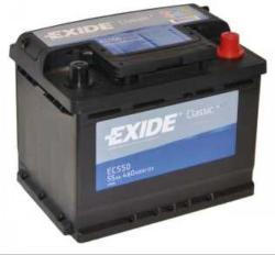 Exide Classic EC550 55Ah 460A Jobb+ (EC550)