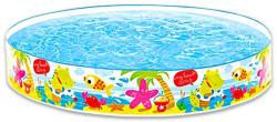 Intex Aloha/Beach Days merevfalú medence többfajta mintával 152x25cm (56451)