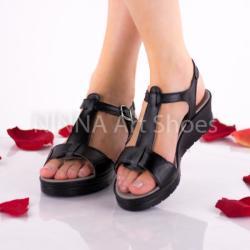 Made In Romania Sandale dama, negru, din piele naturala - NA274NEGRU