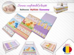 MyKids Saltea Fibra Cocos MyKids Economy II Color diverse modele 120x60x6